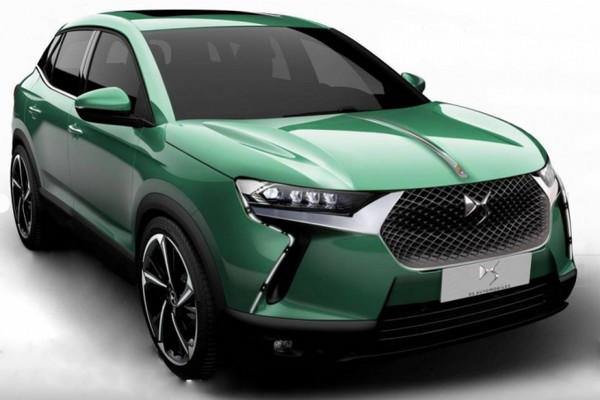 DS 3 Crossback на электричестве