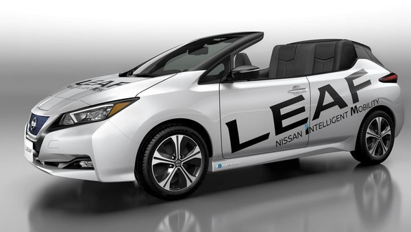 Электромобиль Nissan Leaf Open Car