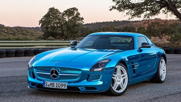 Электрокар Mercedes-Benz SLS AMG Electric Drive