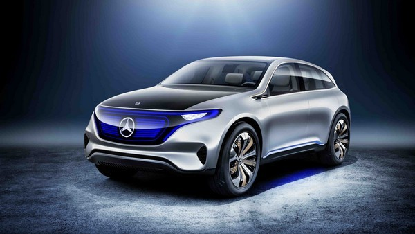 Концепт Generation EQ - прообраз Mercedes-Benz EQC
