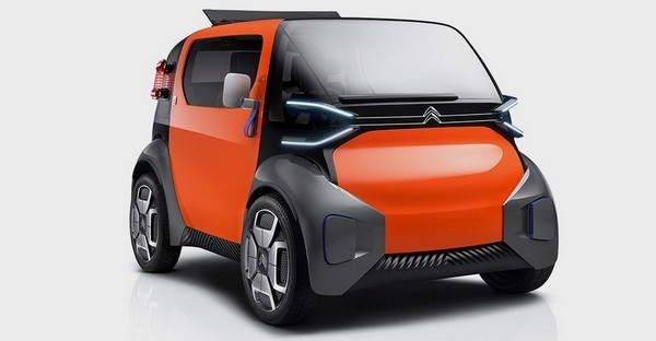 Компактный Citroen Ami One Concept
