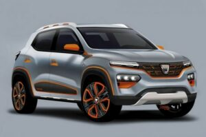 Электромобиль Dacia Spring Electric